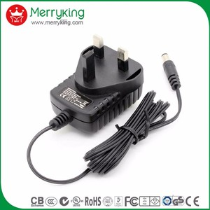 AC DC adapter 220v to 12v UK plug power adapter for neon light with free samples