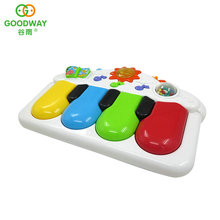 Funny Nontoxic Musical Educational Toys Plastic Baby Grand Piano Toy