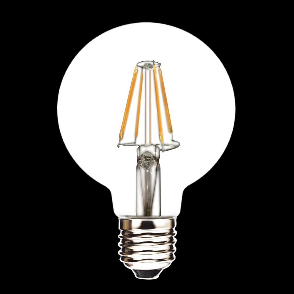 Buy G80 Led Filament E27 40w Bulb Online: Led Filament Led Edison Bulb G80 E27 4w 220v