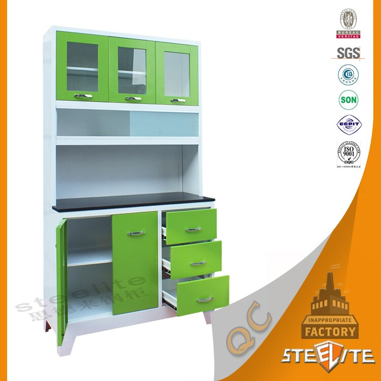 2016 steelite wholesale green color combinations small for Best material for modular kitchen cabinets