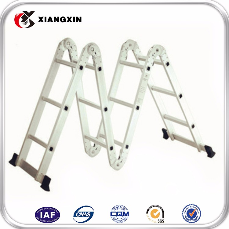 Portable Aluminum Multi Purpose Ladder 4x3 4x4 4x5 4x6