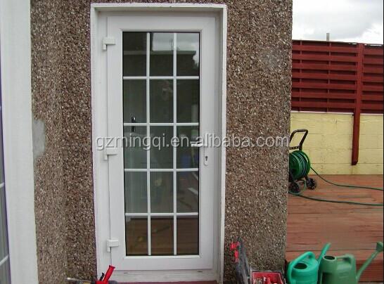 Maquina exterior pvc puerta de cristal a prueba de sonido - Puertas exteriores de pvc ...