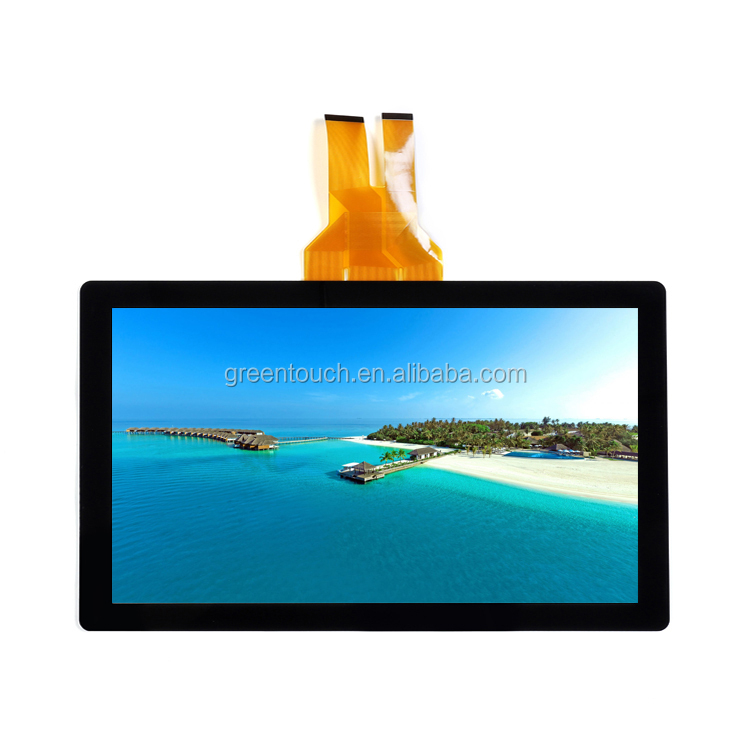Pcap touch หน้าจอ 43 นิ้วแบบ capacitive multi touch usb สำหรับ Monitor Interactive Kiosk AIO PC
