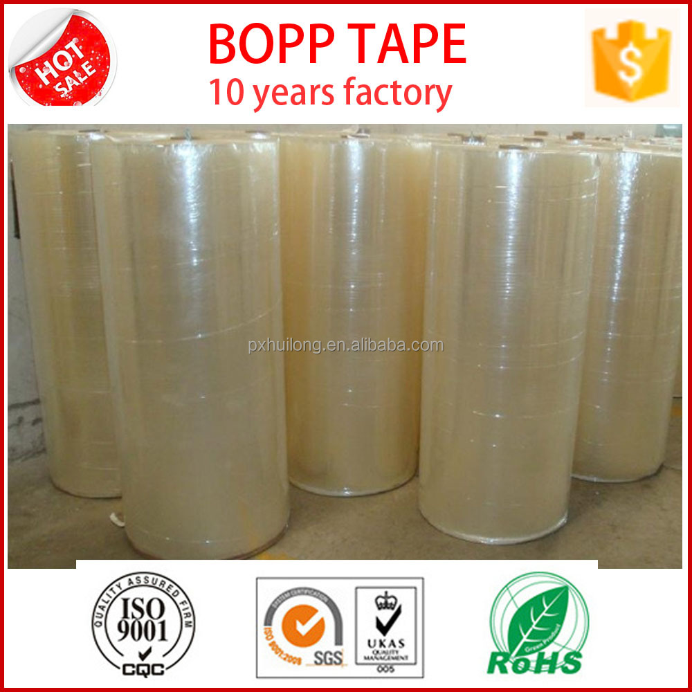 clear bopp packing tape jumbo <strong>roll</strong>