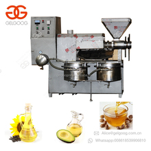 GG60 Peanut Oil Press Expeller Basil Extract Black Sesame Seed Oil Processing Palm Kernel Argan Oil Extraction Machine Price