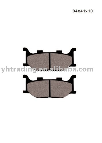 TZM-150-F motorcycle brake pads