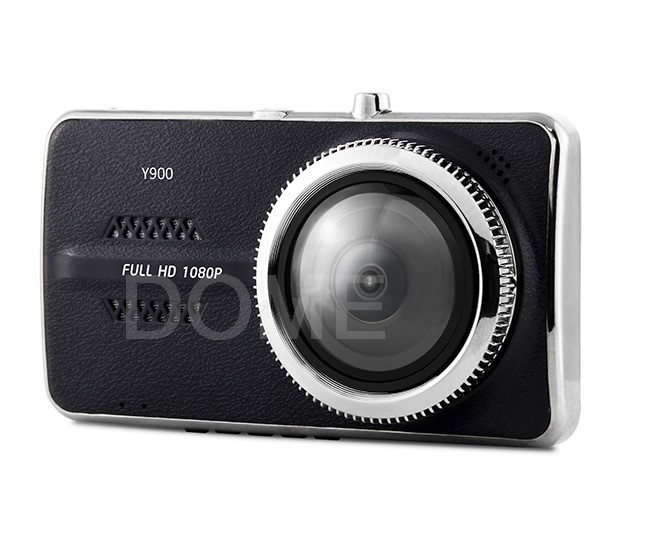 Dual Camera 1080P Car DVR with Reverse Camera,4.0 inch big screen NTK96658 Chip two camera dash cam