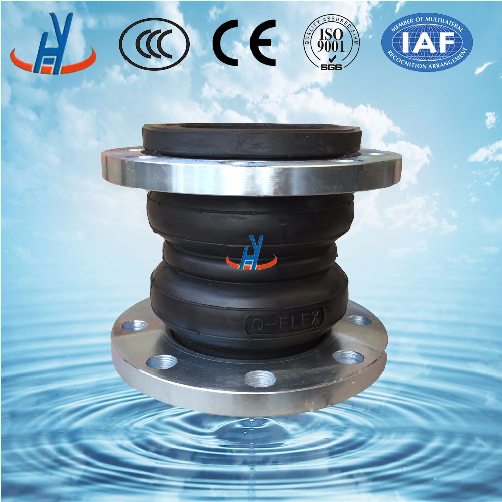 Corrosion-resisting Double Sphere Flexible Rubber Joint