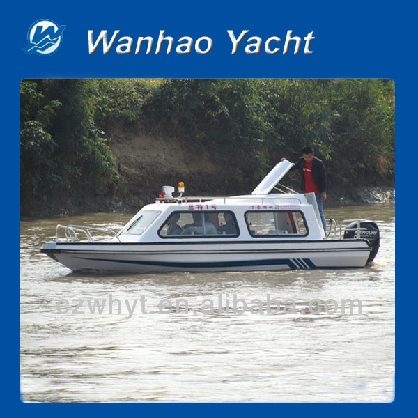 Wh 600 10 person fast speed passenger boat