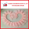 2017 pleated ribbon for girls clothes