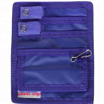 2ac8590dc Médico cinturón Loop bolsa Nylon 5 enfermera bolsillo organizador con bolsa  de primeros auxilios