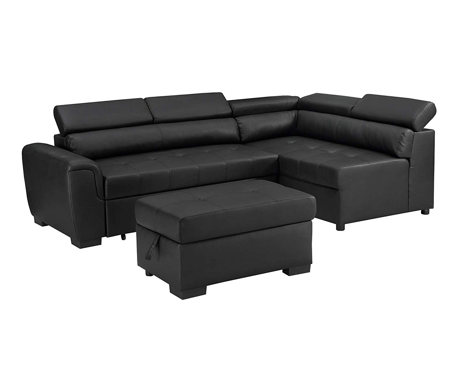 Fabulous Cheap Leather Chaise Sofa Bed Find Leather Chaise Sofa Bed Pabps2019 Chair Design Images Pabps2019Com