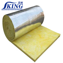 Soundproof Fiber Glass Wool Roll Thermal Insulation