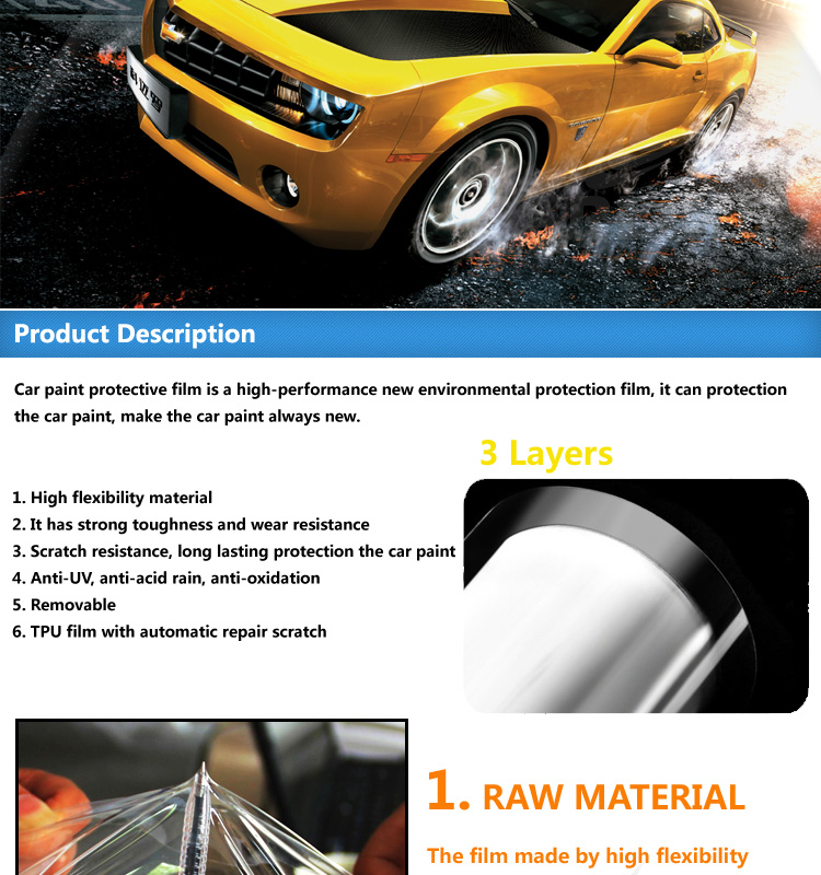 tpu material transparent car body paint protection film ppf buy ppf paint protection. Black Bedroom Furniture Sets. Home Design Ideas