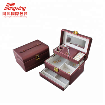 Luxury Mdf Wooden Jewelry Box Wholesale With Custom Logo Buy Wooden Jewelry Box Wholesale Luxury Wooden Mdf Jewelry Box Custom Logo Leather Jewelry