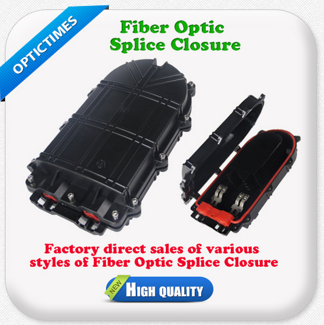 Horizontal type Fiber Optic cable joint box /splice closure/splice enclosure