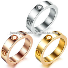 stainless steel rings jewelry, 2014 wholesale fashion 316L titanium stainless steel rings jewelry