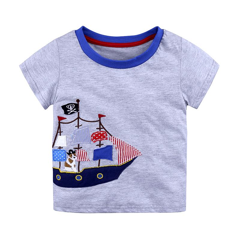 b32575ad4 Niños camiseta niños Camisetas Bebé Niño de dibujos animados de los niños  de verano de manga