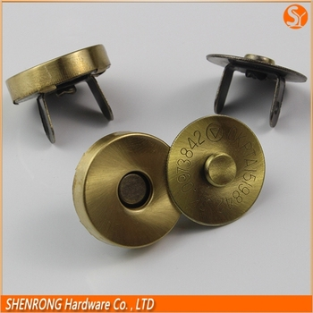 High Quality Strong Brass Magnetic Ons Handbag Clips For Bag