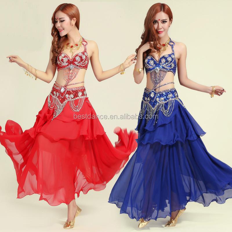 1cfc404dada BestDance Indian dance costumes set belly dance costumes sets  Plus size  belly  dance top