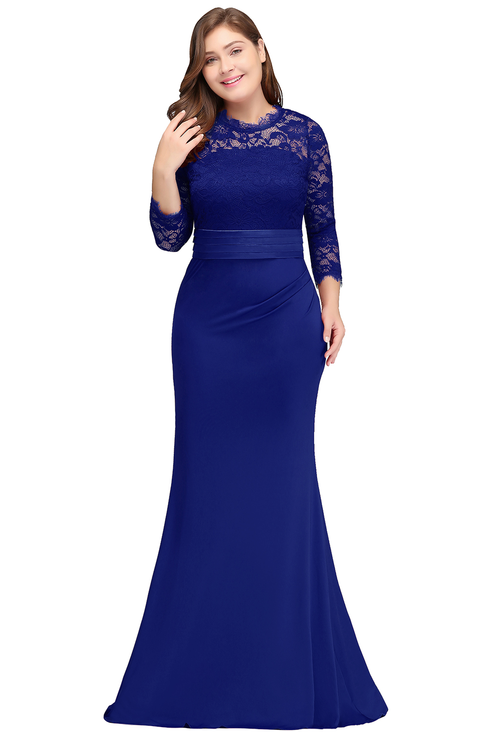 4c711ae9d1a robe de soiree longue Plus Size Evening Dresses 2019 Cheap Red Royal Blue Long  Mermaid Evening Party Gown Dress Vestido De Festa