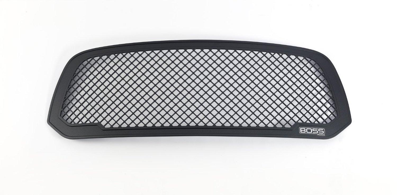 Putco Black Aluminum Boss Grille Insert for 2013-2015 Dodge RAM 1500