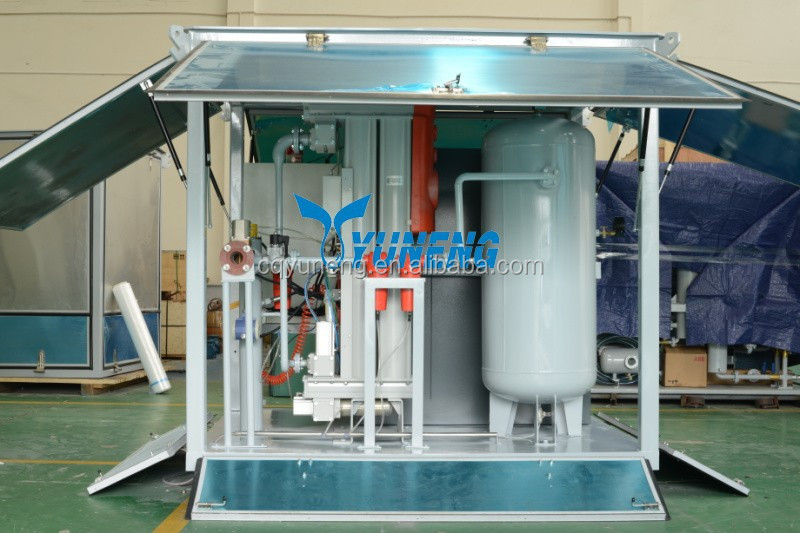 GF Series Wet Air Cleaning Plant For Transformer Factory