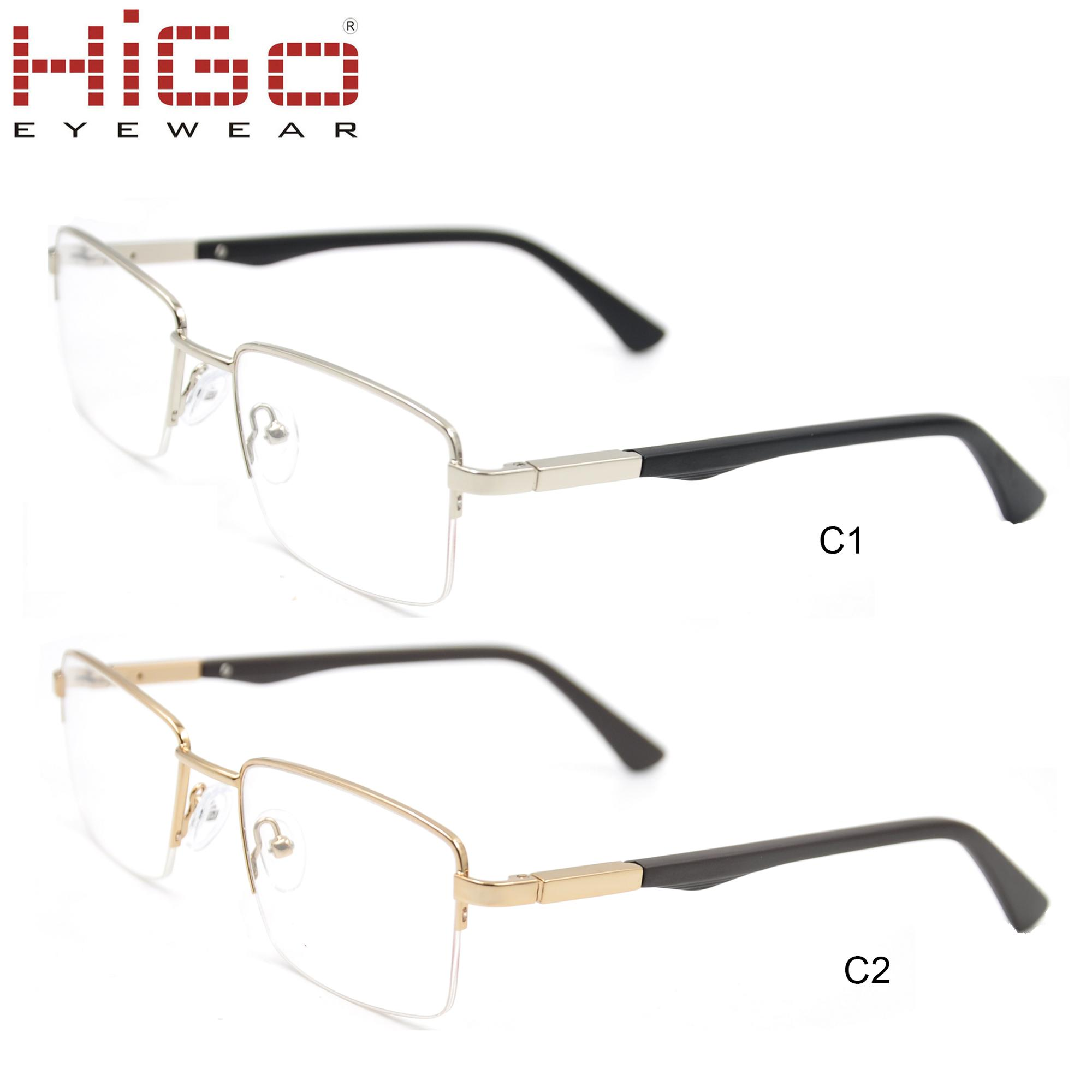 412c3ff6ee 2018 new arrivals ready stock spectacles glasses metal optical frame with good  price manufacturers in China