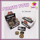 Twinkle toys PP plastic pirate compass kids pirate party toys