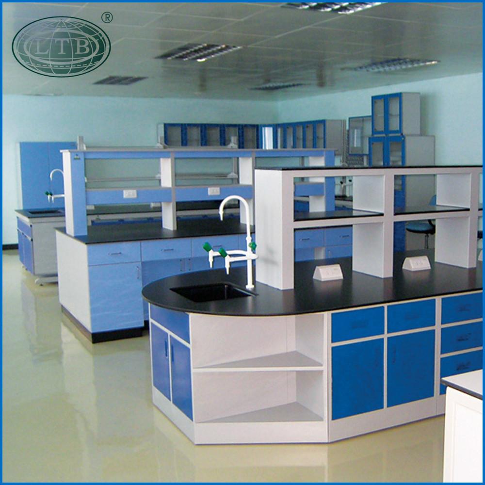 Combinatie prijs chemicaliën lab epoxyhars werkblad met kabinet ...