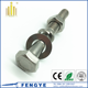 A2 A4 304 316 stainless steel hex head bolts and nuts
