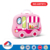 Top role play cooking food toy kitchen set in suitcase for kids