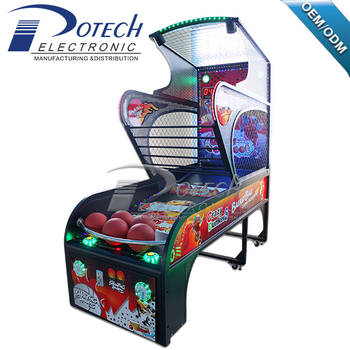 Indoor Coin Operated Basketball Shooting Machine Hot Sale Classic