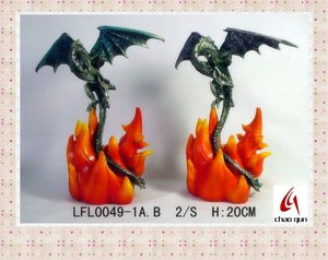 High quality pewter Metal dragon CQL0049