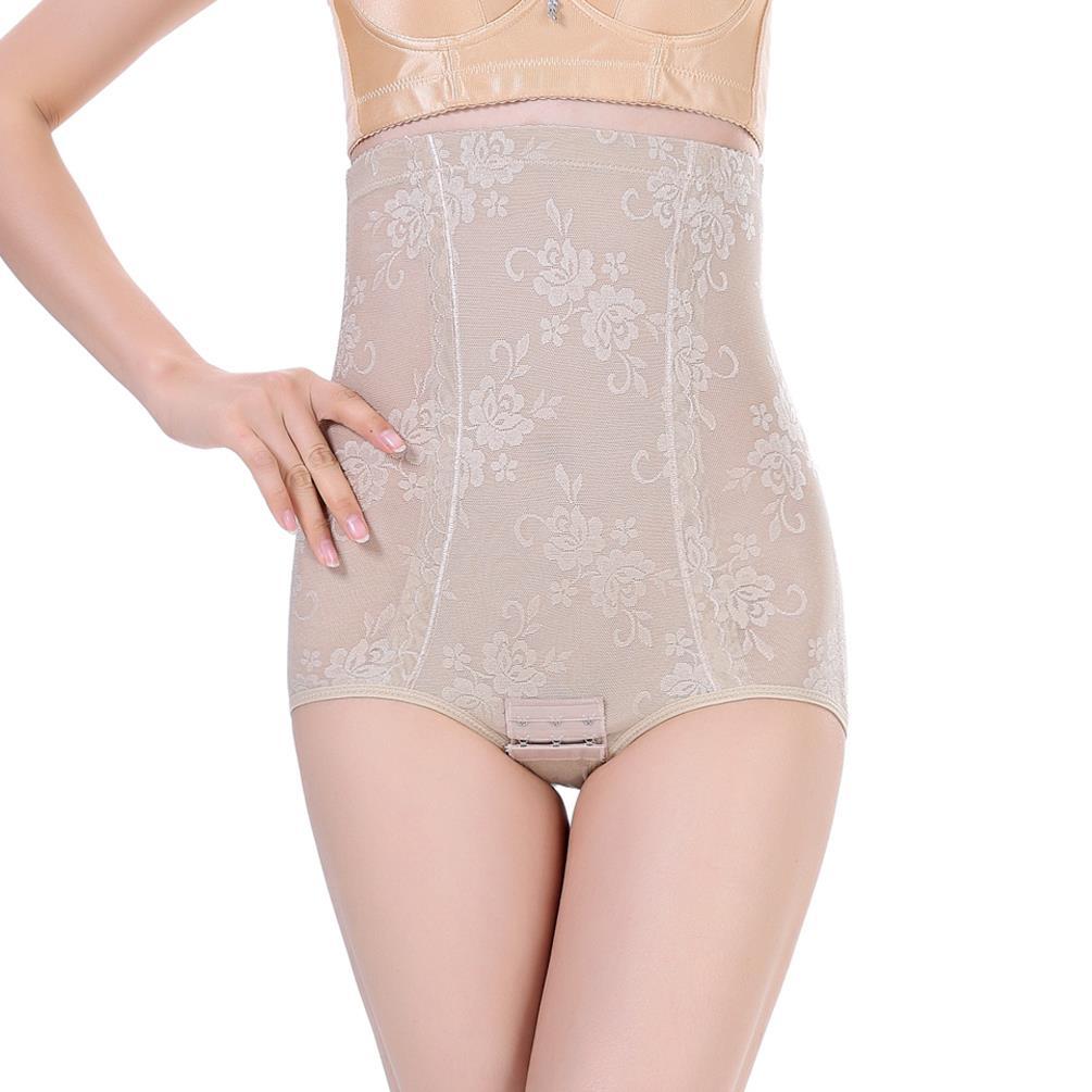 0f6b20ce6ff4a Get Quotations · Women s Shapewear Seamless Hi-waist Tummy Firm Control  Brief Shaper Slimmer
