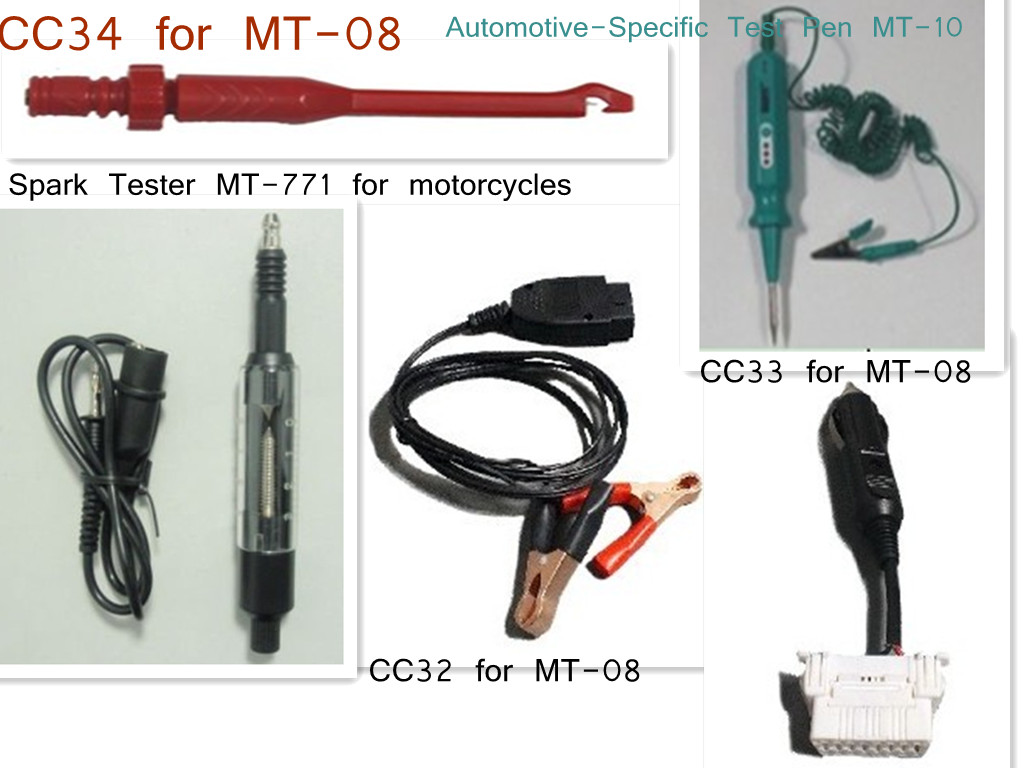 Free Shipping Mst 08 Auto Multi Function Circuit Test Lead With Functional Electrical Tester Digital Multimeter Spark