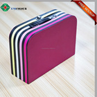 Full Color Printed Cardboard Suitcase Shaped Gift Box