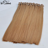 Wholesale 100% remy cuticle keratin hair extension human hair bonded flat tip