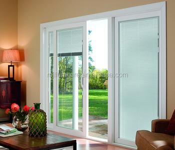 Modern House Design Aluminum Double Tempered Glass Sliding Door System