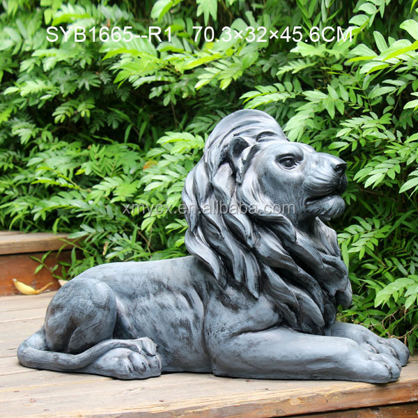 Large Garden Statues Resin Lion Animal Statue Buy Garden Statues