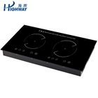 3300KW touch control double burners induction cooker for chef cooking appliances