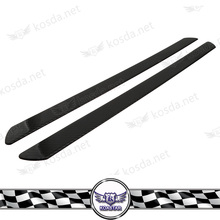 Universal Car Protection Door Guard Real Carbon Fiber door sill scuff plate