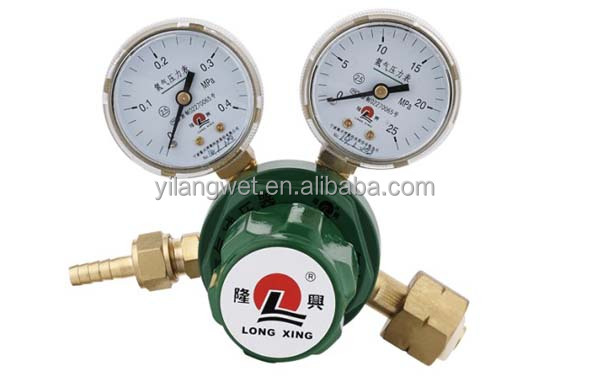 Gas Regulator M60/866 Dual Regulator Oxygen Regulator for natural gas