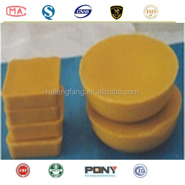 natural and organtic refined yellow beeswax
