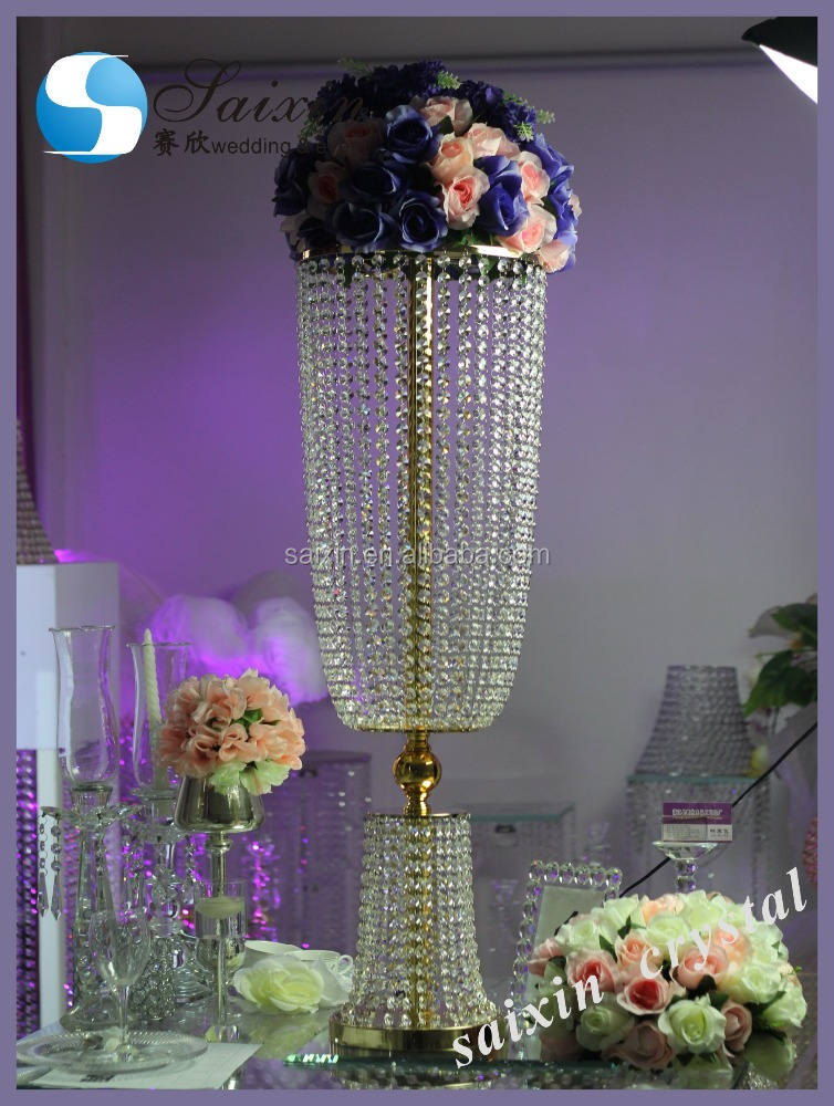 Gorgeous Crystal Wedding Decoration Materials Backdrop Stage Indian