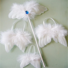 small feather angel wings for baby