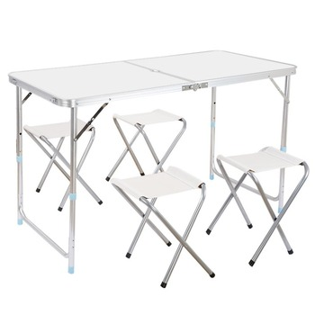 Tianye Outdoor Camping Picnic Adjustable Folding Table Ft Aluminum - Adjustable outdoor dining table
