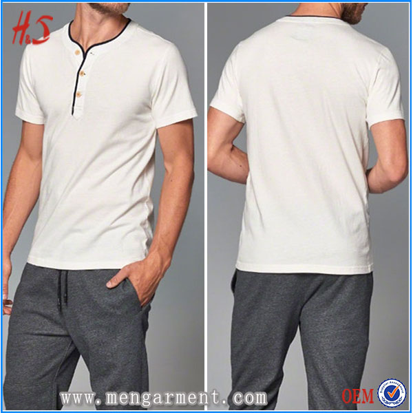 100% Pure Cotton White Color High Quality Men Colthes For Export T Shirts Wholesale Clothing Factories In China