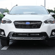Car Accessories Stainless Steel Front Rear Bumper Diffuser Protector Guard Skid Plate For Subaru XV 2018 2019 Car Bumper