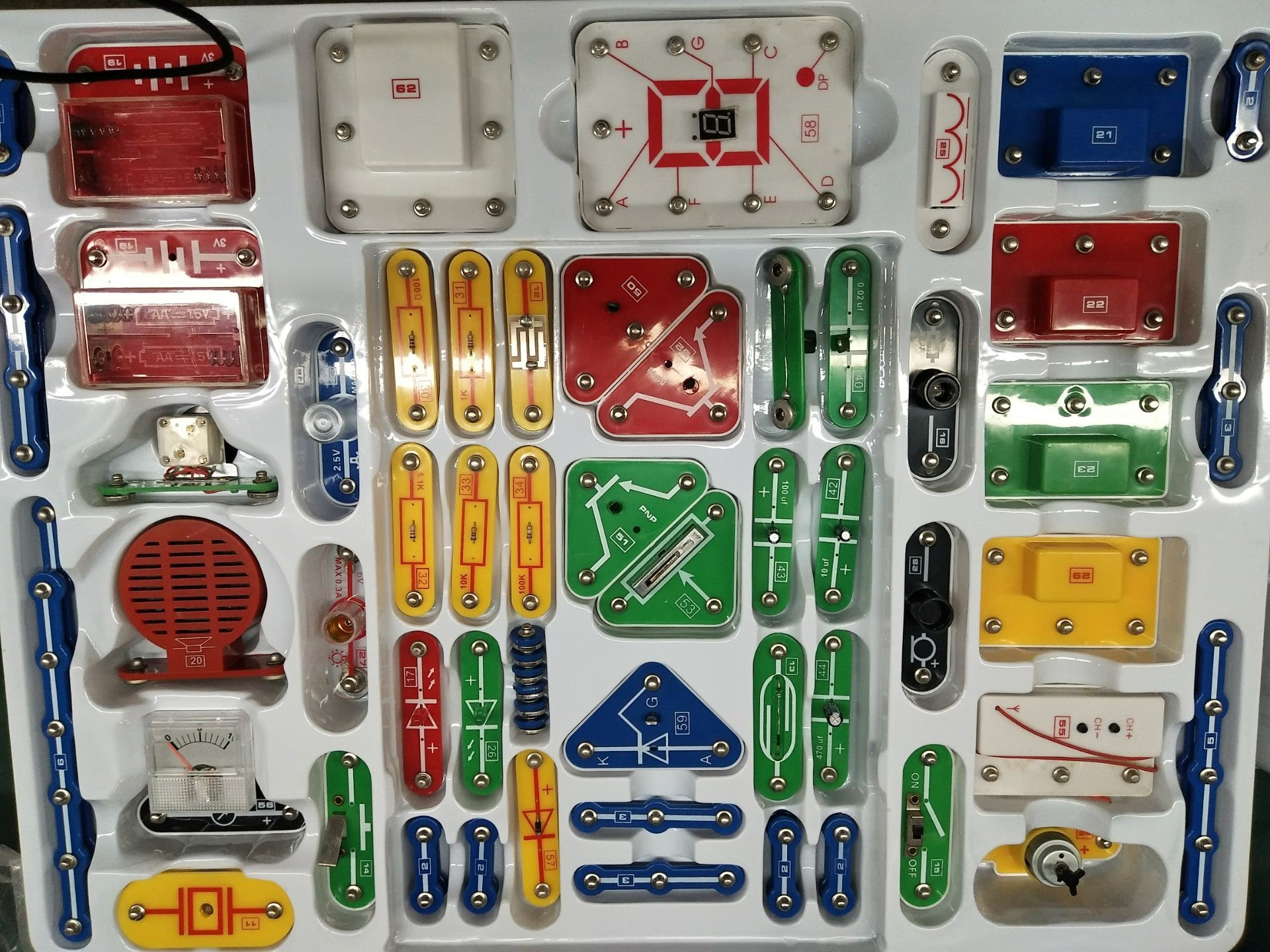 China Snap Circuits Manufacturers And Suppliers Kit On
